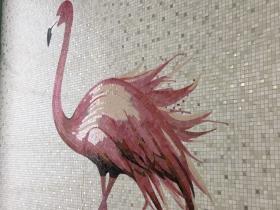 розовый фламинго 03