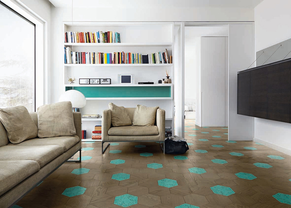Каталог паркета Bisazza WOOD CENTRAL PLAY
